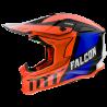 CASCO MT FALCON WARRIOR C4 GLOSS PEARL FLUOR ORANGE